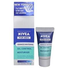 Nivea Advanced Whitening Oil Control Moisturiser (fairness cream for men) - Mychhotashop