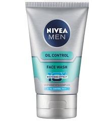Nivea Men Oil Control 10X Face wash - Mychhotashop